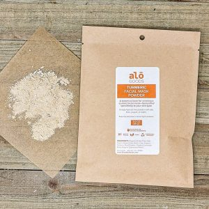 Facial Mask Powder Turmeric 2