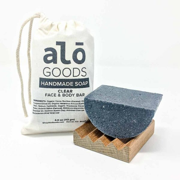Clear Charcoal Natural Soap Bar
