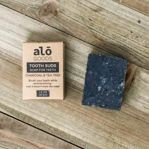 Oral Care Activated Charcoal Tooth Suds