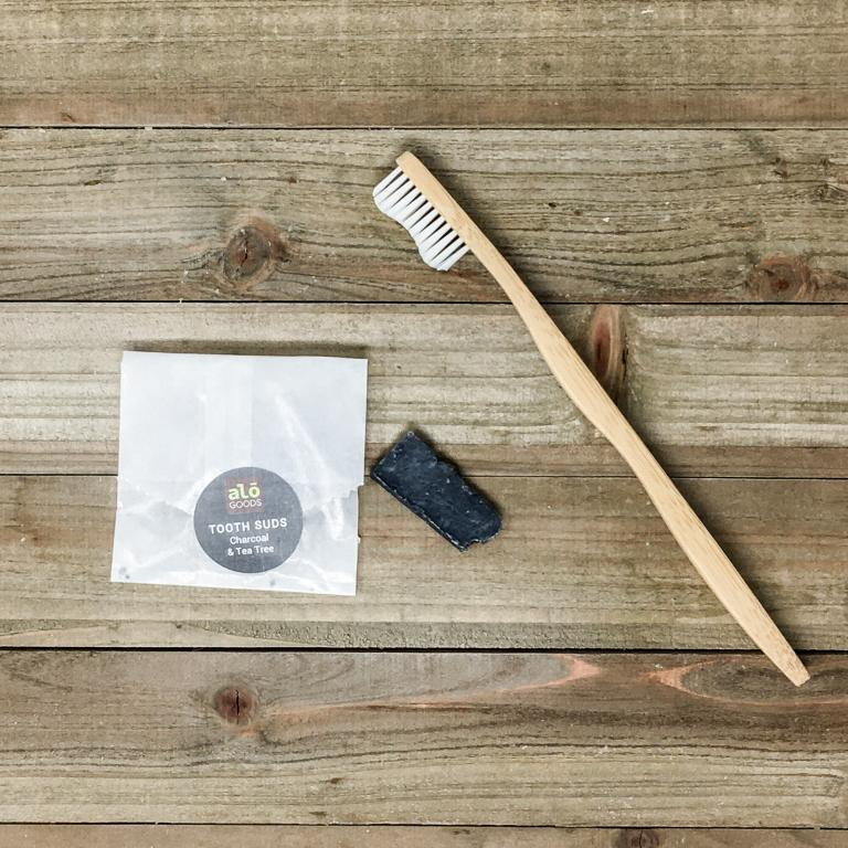 Oral Care Activated Charcoal Travel Bar