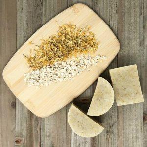 Pure - Oatmeal and Calendula Handmade Soap