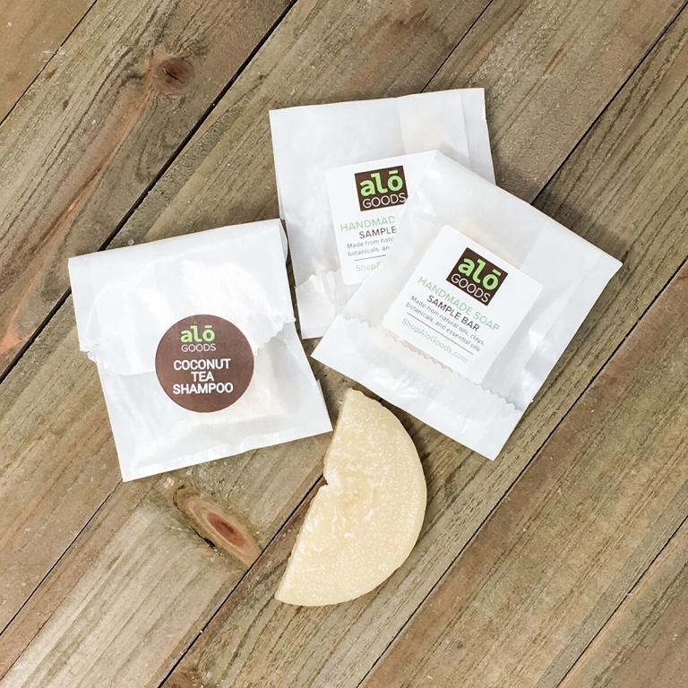 Coconut Tea Shampoo Sample