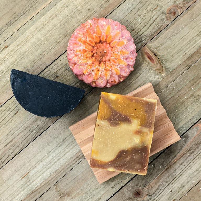 Pure—Oatmeal and Calendula Handmade Soap