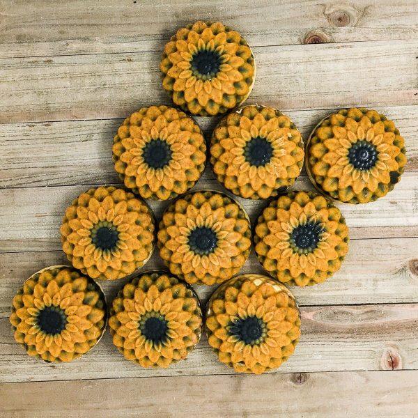 Custom Sunflower Soaps 10bar