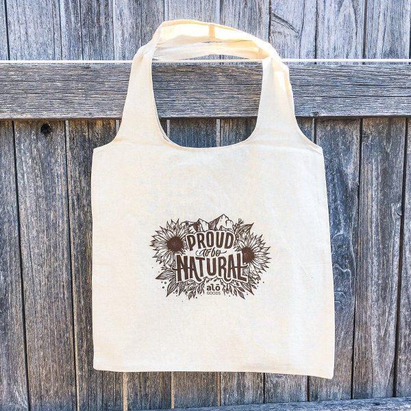 Natural Cotton Sling Bag 2