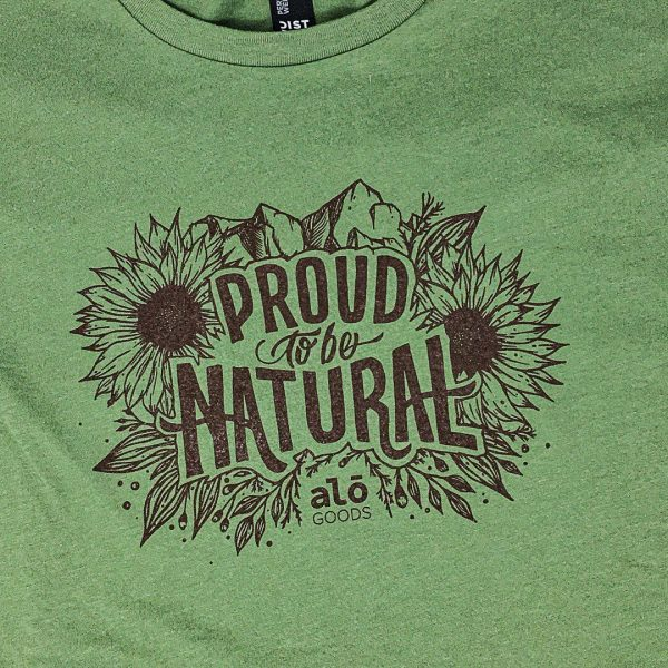 Proud To Be Natural Tshirt
