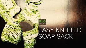 Free Knitted Soap Sack Pattern